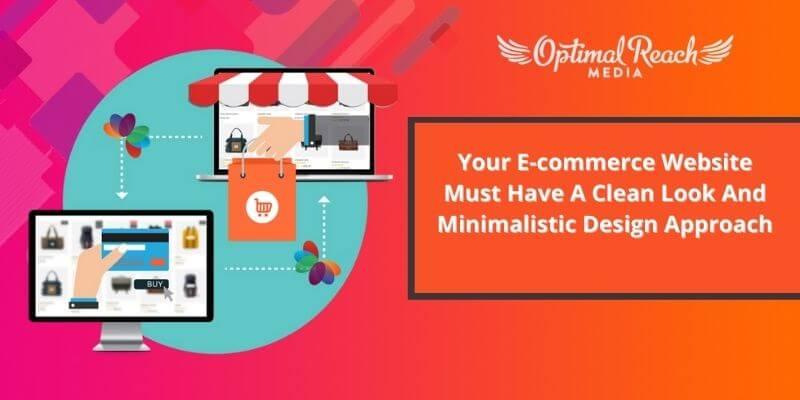 Keep E-commerce Website Look clean